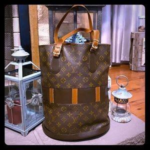 Vintage Louis Vuitton Bucket Bag GM 💯% Authentic